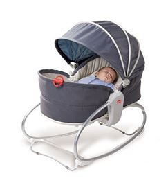 Immagine di Sdraietta e Dondolino 3-in-1 con cappottina - Cozy Rocker Napper Tiny Love