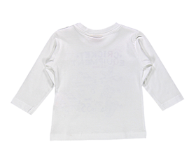 Immagine di T-Shirt in Jersey Bianco con Stampa - Brums