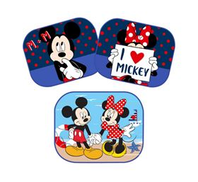 Immagine di 2 tendine auto Mickey Mouse & Minnie - Disney