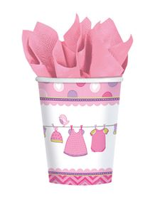 Immagine di 8 Bicchieri Bimba Shower With Love
