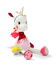 Immagine di Peluche Soffice Unicorno Louise con Box regalo – Lilliputiens