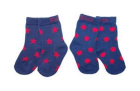 Immagine di Calzini Navy and Red 2 paia - Blade & Rose