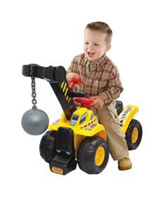 Immagine di Cavalcabile Primi Passi Palla Demolitrice - Fisher Price
