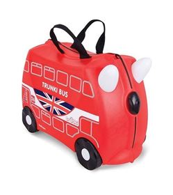 Immagine di Valigia Cavalcabile Boris London Bus - Trunki