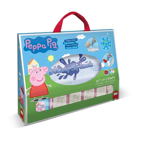 Stamp Splash con grafiche di Peppa Pig