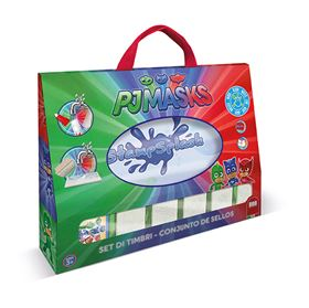 Stamp Splash con grafiche di PJ Masks