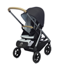 Passeggino Mosey Plus - Easywalker Charcoal Blue FRONTE MAMMA