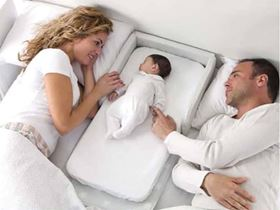 Lettino per co-sleeping primi mesi e fasciatoio 2 in 1 - Bolin Bolon