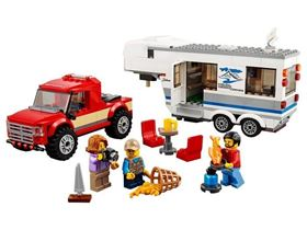 LEGO City Great Vehicles - 60182 - Pickup e Caravan