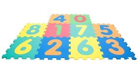 Tappeto Puzzle 123 Learning - Mamtoy