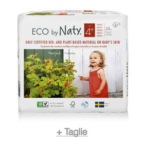 Pannolini ECO by Naty - Pannolino ecologico n.1 + taglie