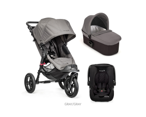 Passeggino Trio City Elite Deluxe - Baby Jogger Gray