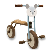 Biciclettina Forester Baby Wolf – Italtrike