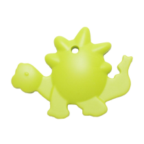 Massaggiagengive Dinosauro Verde in silicone alimentare – Nibbling