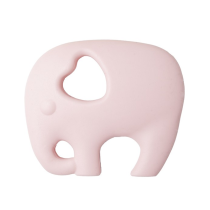 Massaggiagengive Elefante Rosa Baby in silicone alimentare – Nibbling