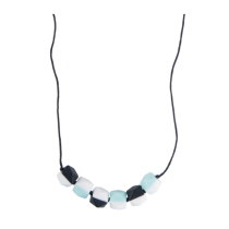 Collana Mint and Black in silicone alimentare – Nibbling